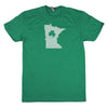 Shamrock Men's Unisex T-Shirt - North Carolina