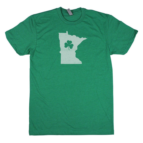 Shamrock Men's Unisex T-Shirt - Wisconsin