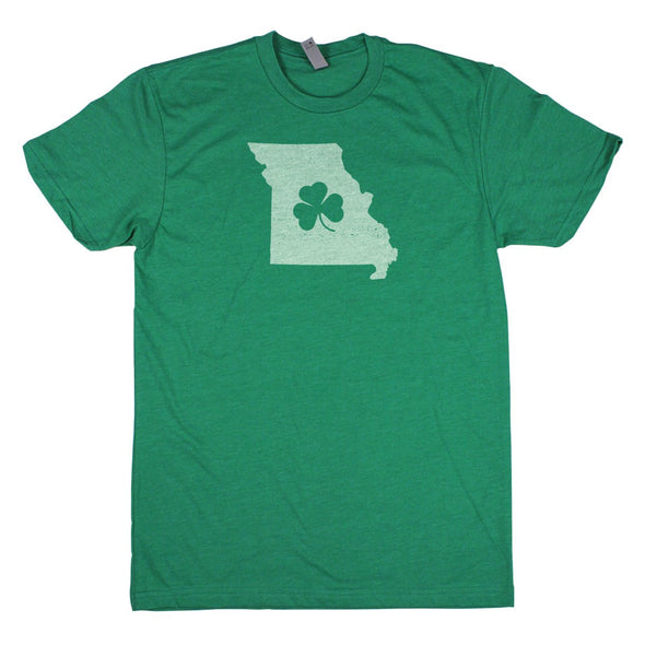 Shamrock Men's Unisex T-Shirt - Louisiana