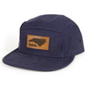 home. Leather Patch Hat - Louisiana