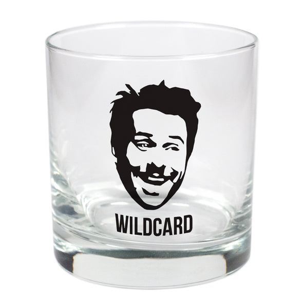 Wildcard Charlie  - 11 oz Stylized Rocks Glass