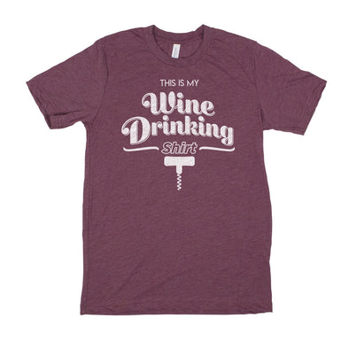 This Is My Wine Drinking Shirt Men's Unisex T-Shirt