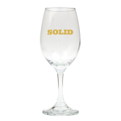 Solid (Gold) Wine Glass