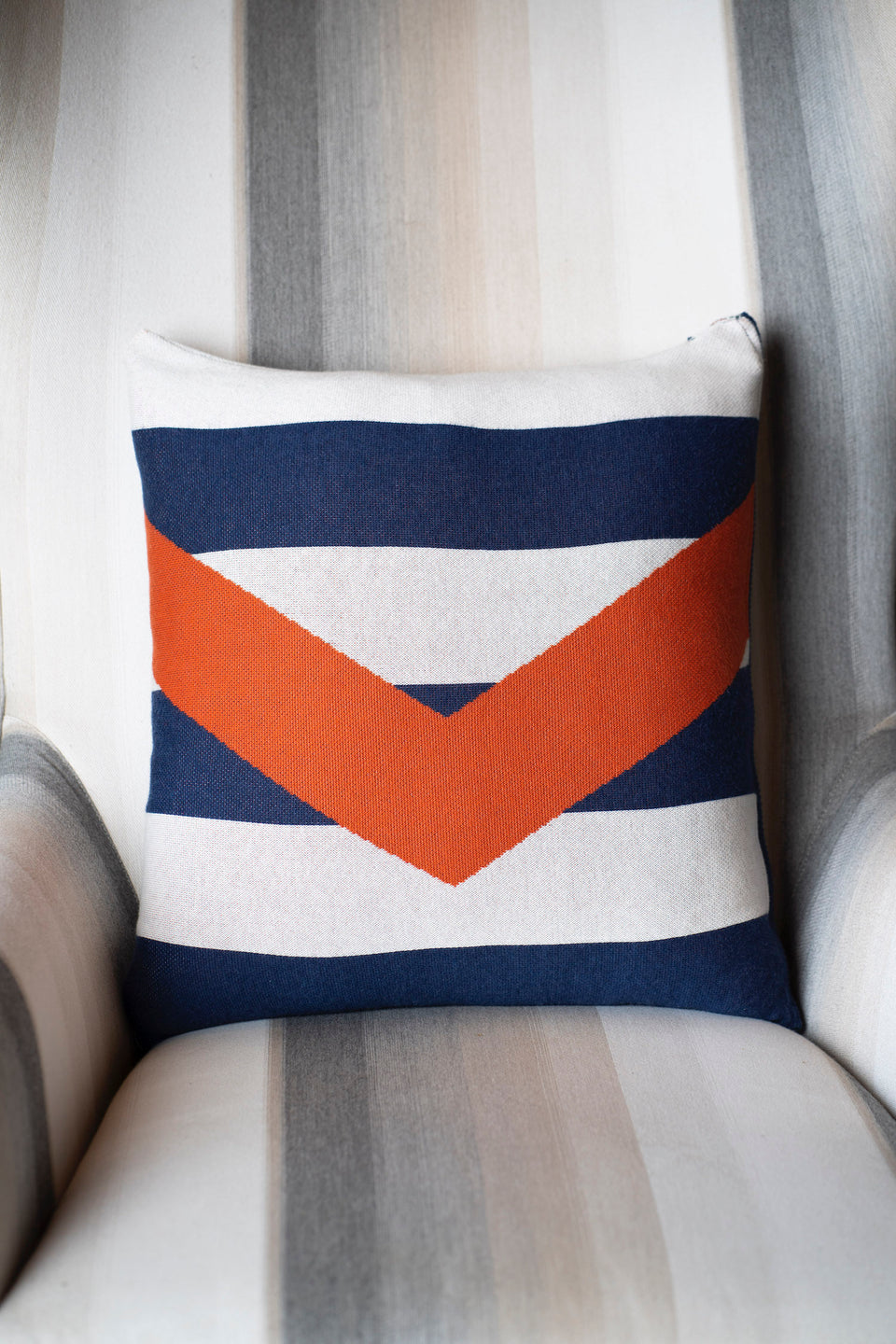 Chevron Stripe Pillow