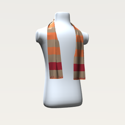 _Chevron Stripe Scarf
