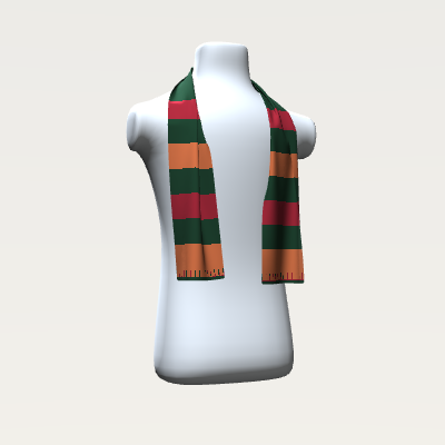 _Forest Stripes Scarf