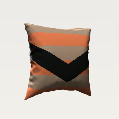 _Chevron Stripe Pillow