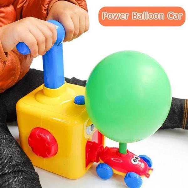 Balloon Launcher Car Toy Set - Duvely Store