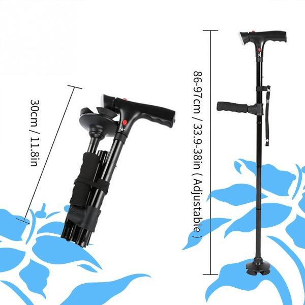Buddy™ Foldable telescopic cane for the elderly - Duvely Store