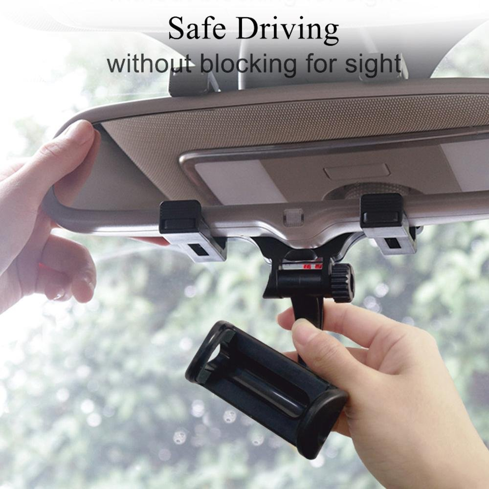 Car Rearview Mirror Phone Bracket