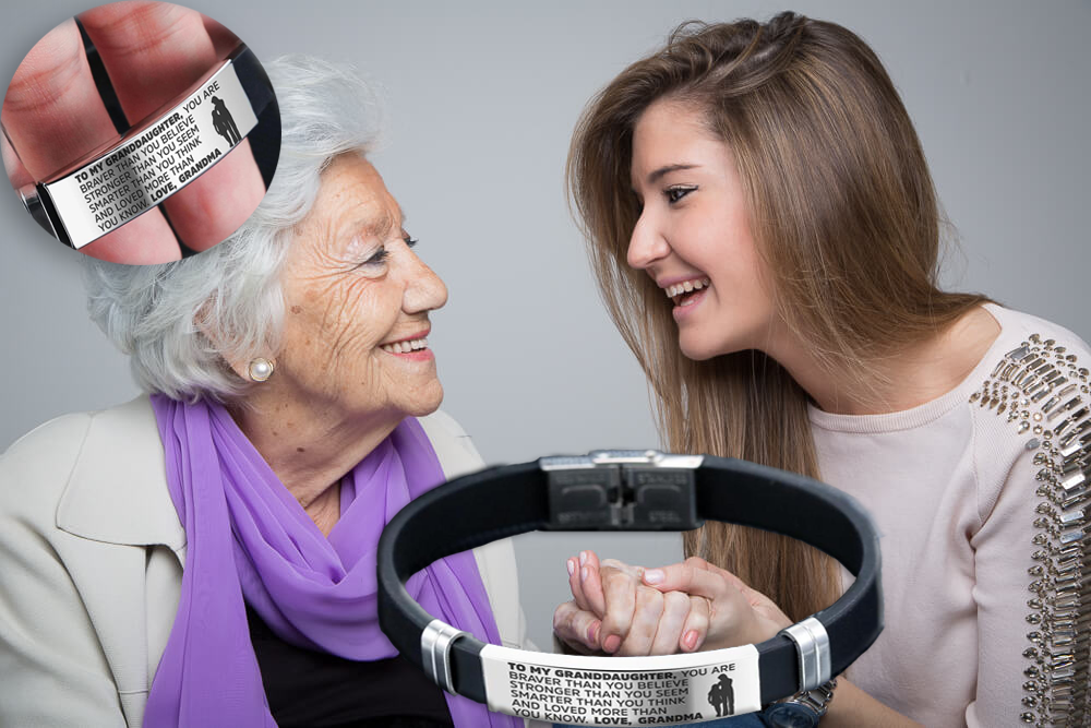 From grandmother to granddaughter: steel and silicone bracelets