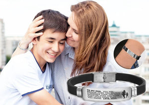 From Mom to Son - Steel & Silicone Bracelets