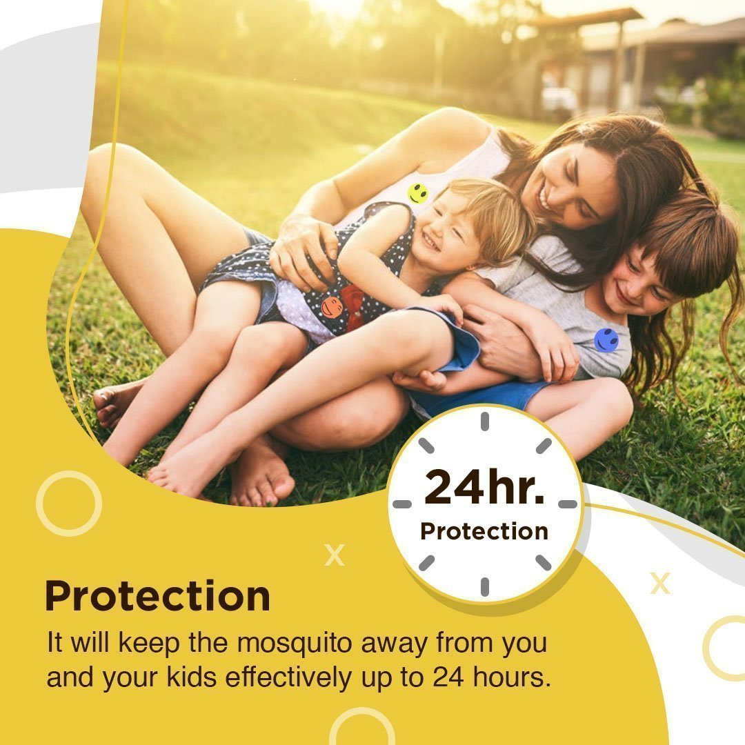 Mosquillent™ Natural Mosquito Repellent Patches