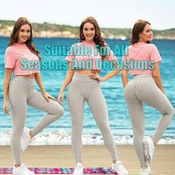 Sexy High Waist Leggings - Duvely Store