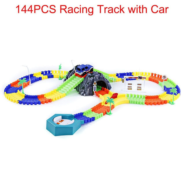 New Racing Track with Car Race,  - The Best Tec