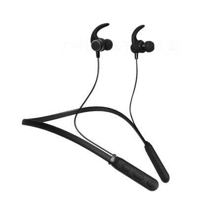 Magnetic Stereo Wireless Bluetooth Headphone with Hi-Fi Microphone