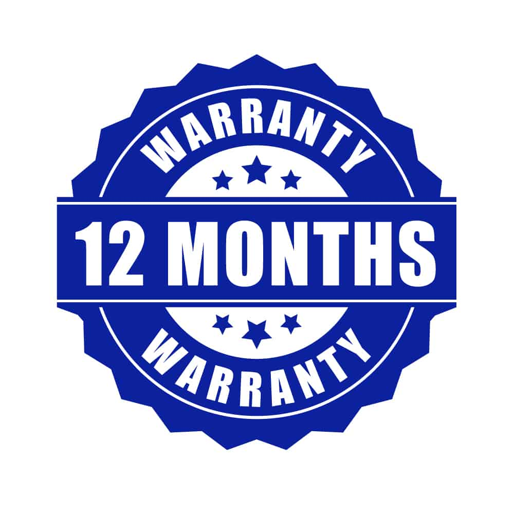 12 Months Support and Warranty