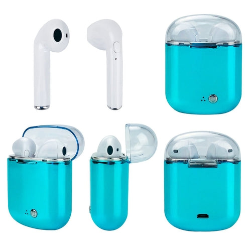 Wireless Bluetooth Earphones with Charging Box for Apple & Android