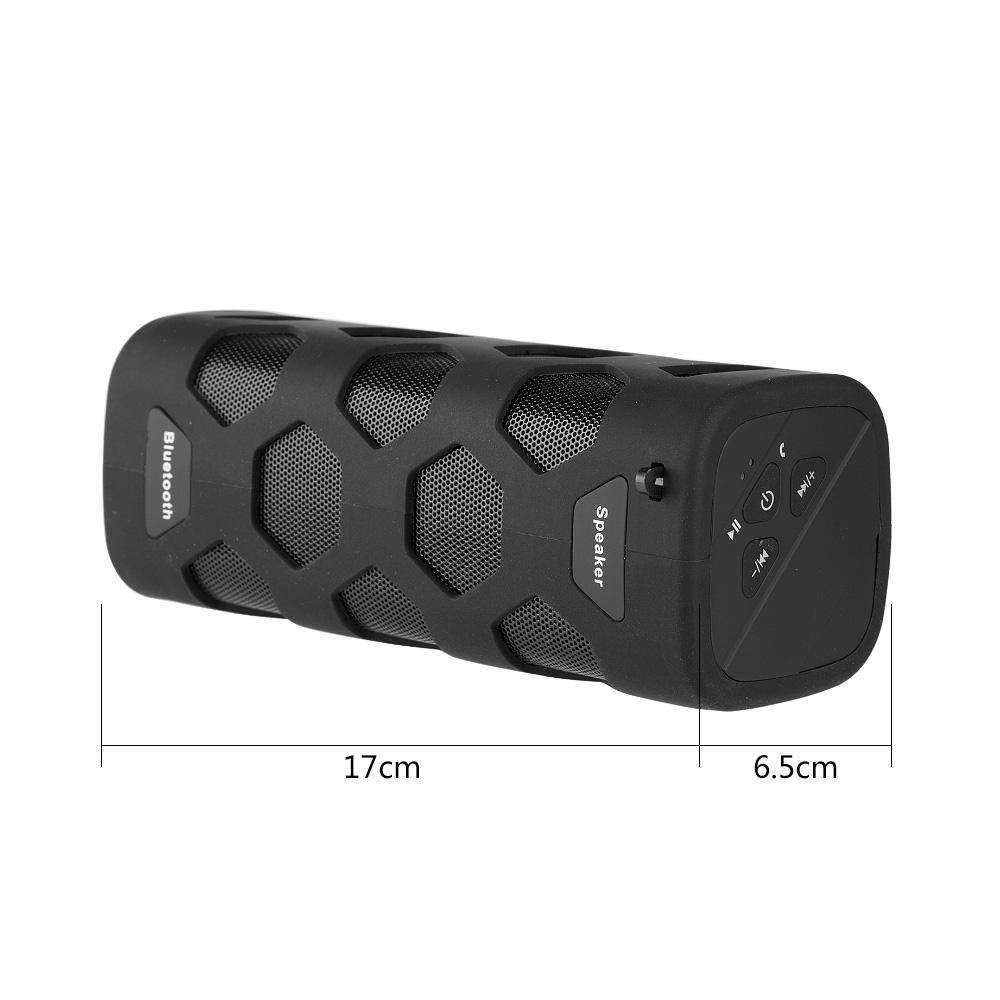Bluetooth Dual Speakers Outdoor Sports Water Resistant w/ Built-In Power Bank