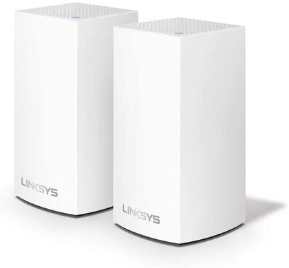Linksys Velop Whole Home Intelligent Mesh WiFi System, Dual-Band - 2-Pack
