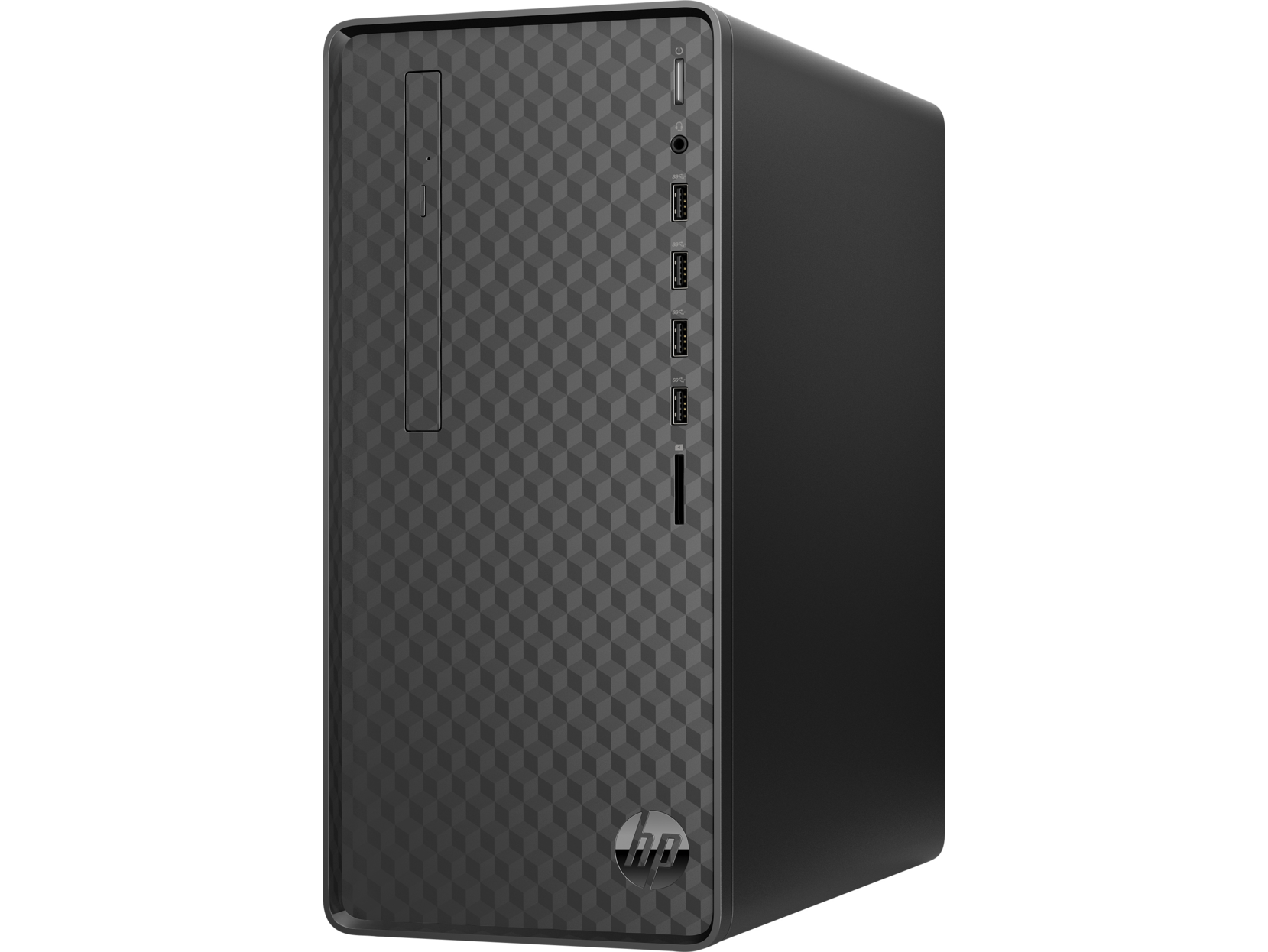 HP Desktop Computer M01-F0057C Intel Core i3 9th Gen 9100 (3.60 GHz) 8 GB DDR4 128 GB PCIe SSD Intel UHD Graphics 630 Windows 10 Home 64-bit
