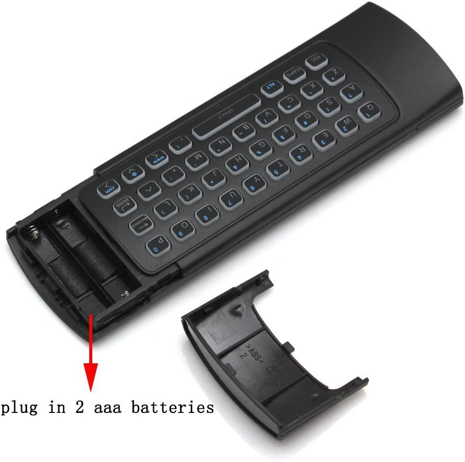 NEWTECH Air Mouse MX3 2.4G w/ Backlit Remote Control Mini Wireless Keyboard & IR Control