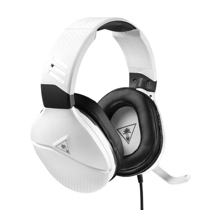 Turtle Beach Recon 200 White Amplified Gaming Headset for Xbox One, PS4 and PS4 Pro