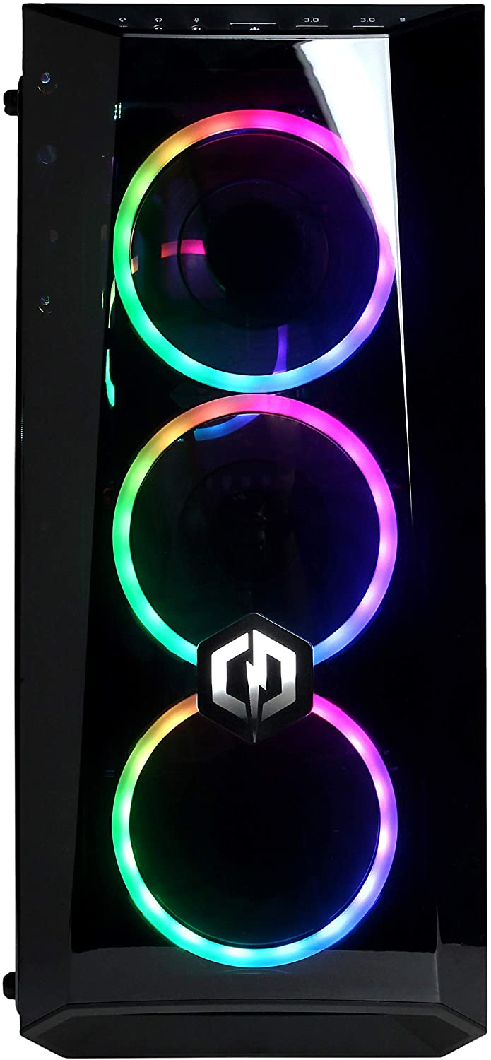 Gamer Xtreme VR Gaming Pc GeForce GTX 1660 240GB SSD + 1TB HDD WiFi Ready & Windows 10 Home