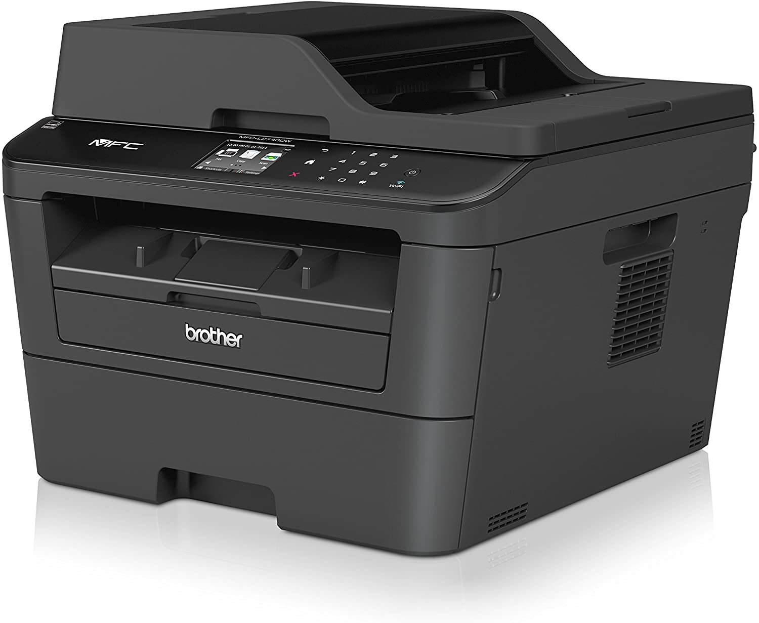 Brother Laser Printer 4-in-1 Multi Function Monochrome Printer Scanner Copier & Fax