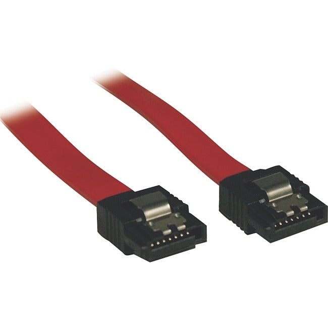 Tripp Lite 1ft Serial ATA SATA Latching Signal Cable 7Pin - 7Pin M-M