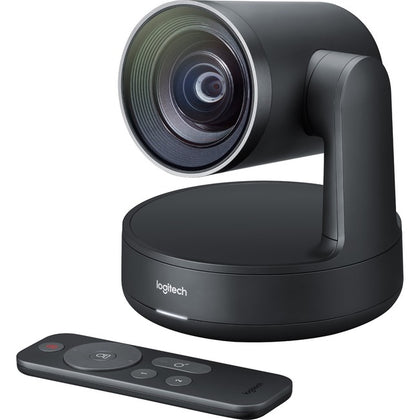 Logitech Video Conferencing Camera - 13 Megapixel - 60 fps - Matte Black, Slate Gray - USB 3.0