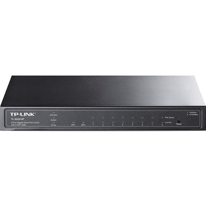 TP-Link JetStream 8-Port Gigabit Smart PoE+ Switch with 2 SFP Slots