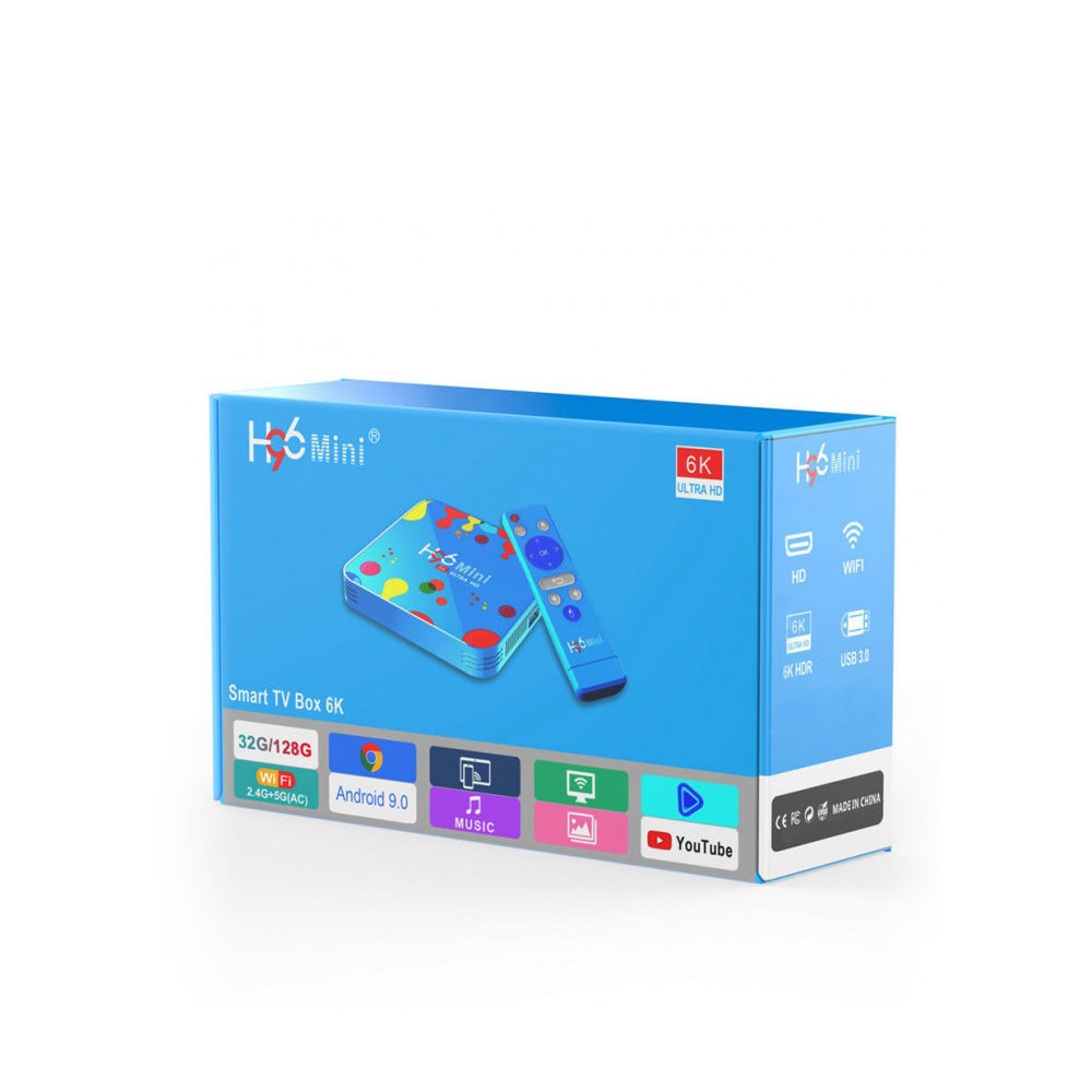H96 Mini H6 HEVC IPTV Set Top Box Latest Model Genuine