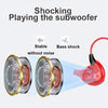 Hifi Stereo Earphone Dual Dynamic Noise Isolation  with Microphone and Remote Control