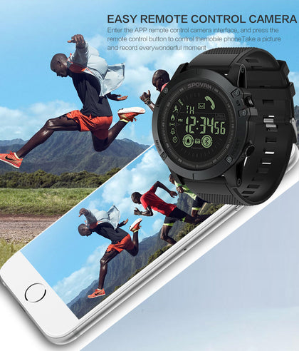 Spovan PR1 multifunctional outdoor bluetooth sport smart watch compatible android and IOS phones