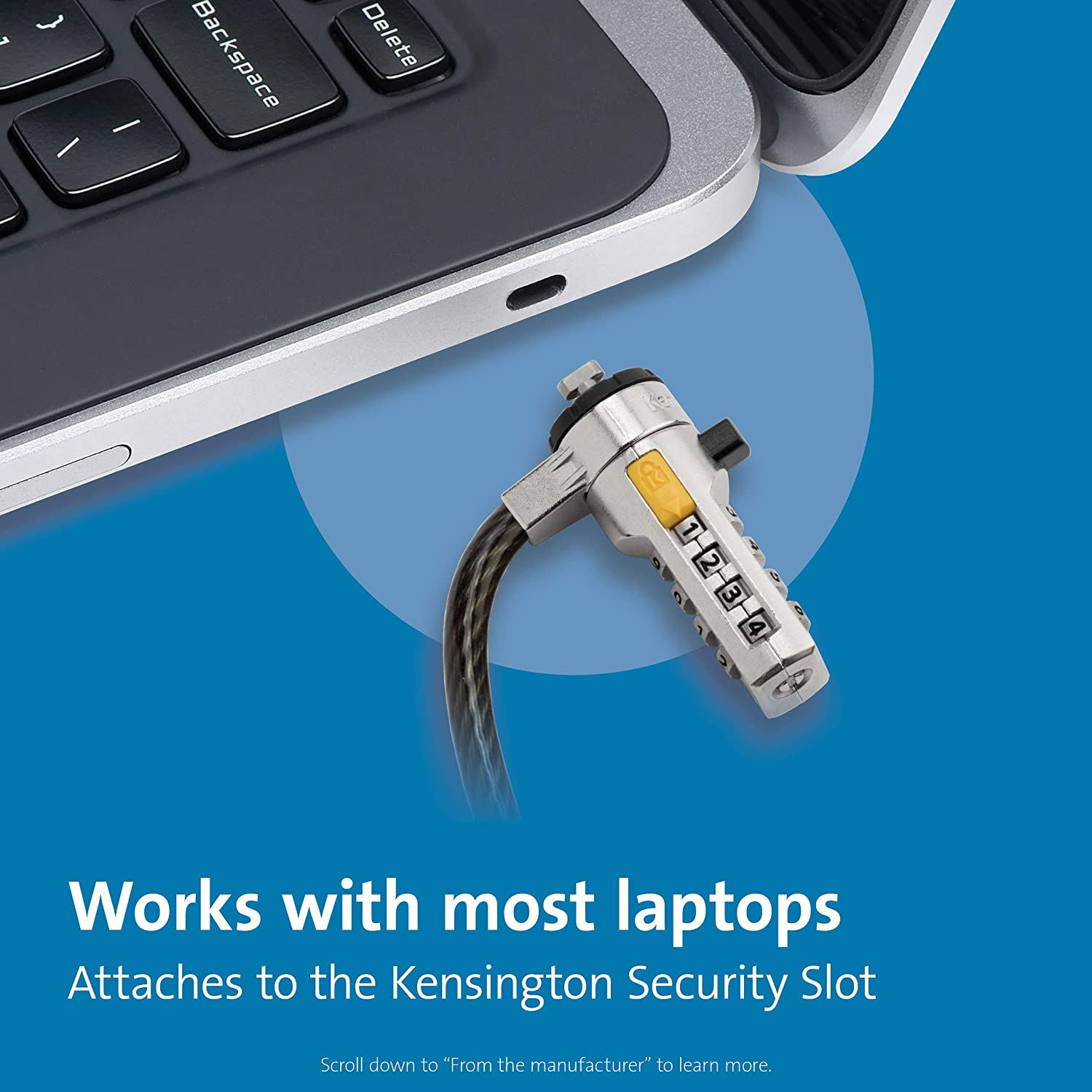 Kensington Ultra Laptop Cable Lock