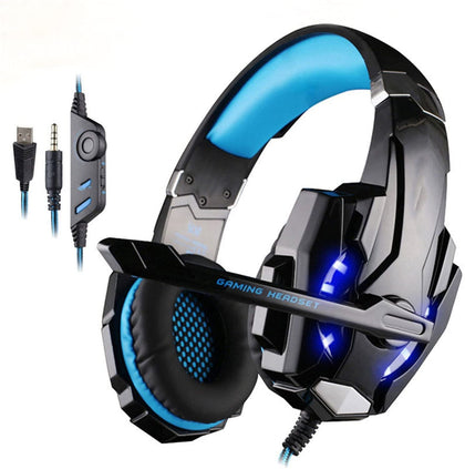 Kotion Each Gaming LED Lighting Over-Ear 3.5mm Headset