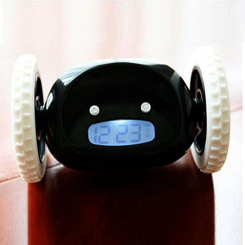 LCD Screen Display Running Alarm Clock