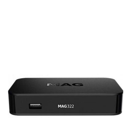 Newtech MAG 322 + FREE USB WiFi HEVC Set Top Box 3D Support High Quality of Sounds & Image