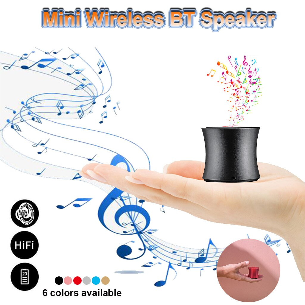 HIFI Portable BT Speaker Mini Wireless Bluetooth Stereo Sound Player
