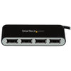 StarTech.com 4 Port USB Hub - 4 x USB 2.0 port - Bus Powered - USB Adapter - USB Splitter - Multi Port USB Hub - USB 2.0 Hub
