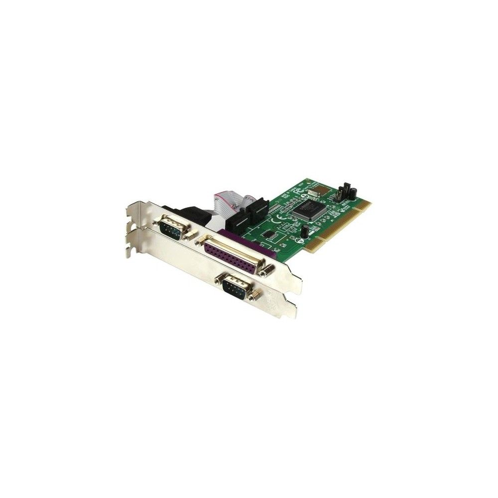 StarTech.com Parallel-serial combo card - PCI - parallel, serial - 3 ports