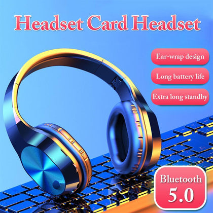 Wireless Headphone With 9D Stereo Sound