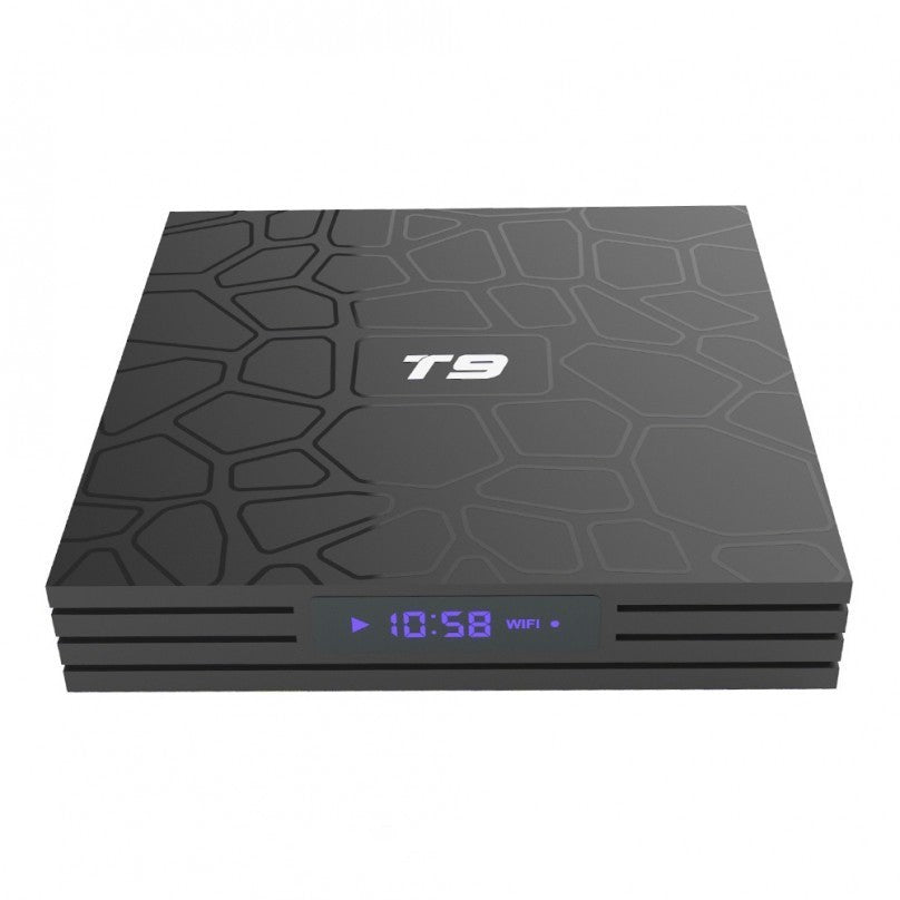 T9 4GB+32GB Android 8.1 TV Box 4K Smart HD Player WI-FI Bluetooth USB3.0 UK/EU Power