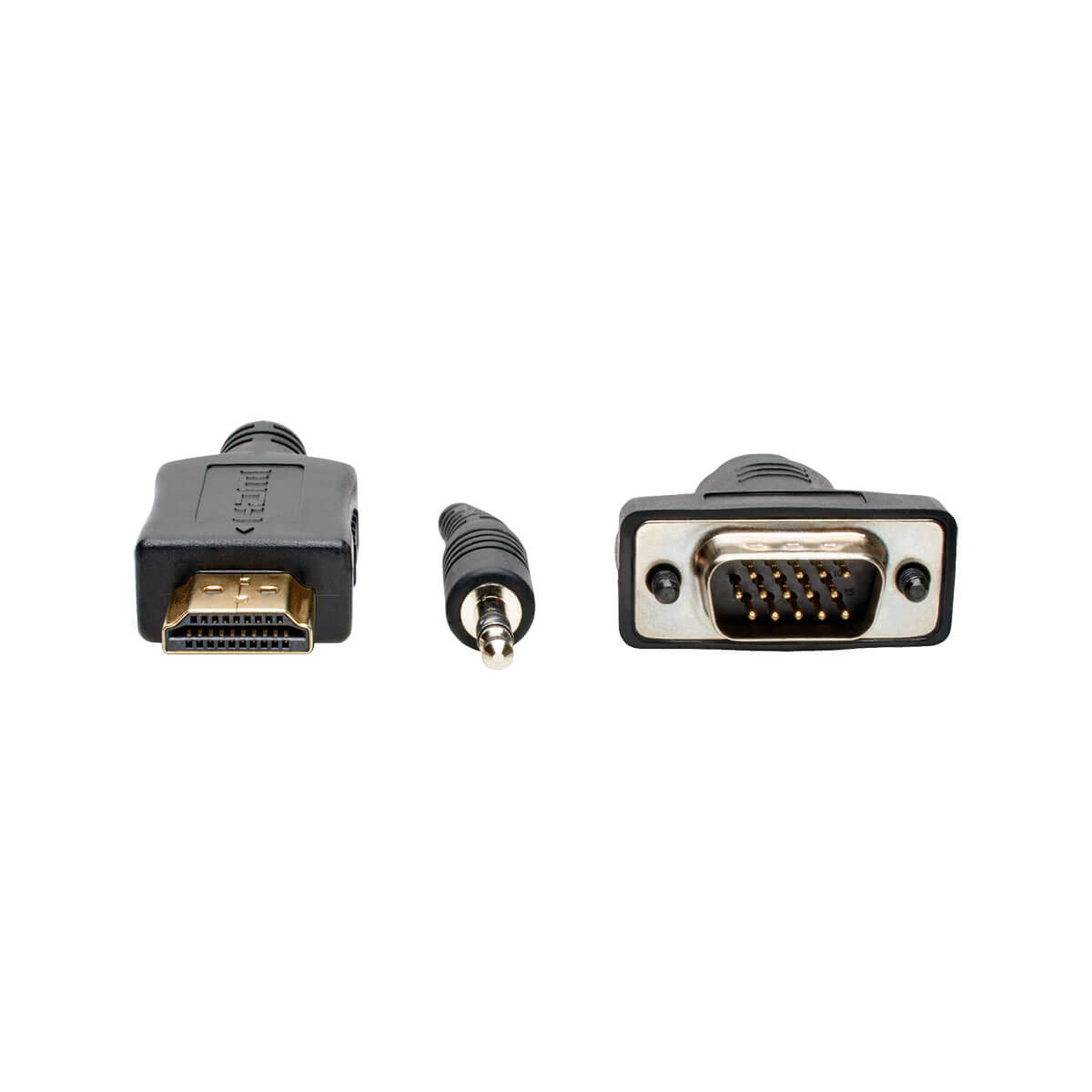 Tripp Lite HDMI to VGA Adapter Converter Cable Active + 3.5mm M-M 1080p 3ft 3'