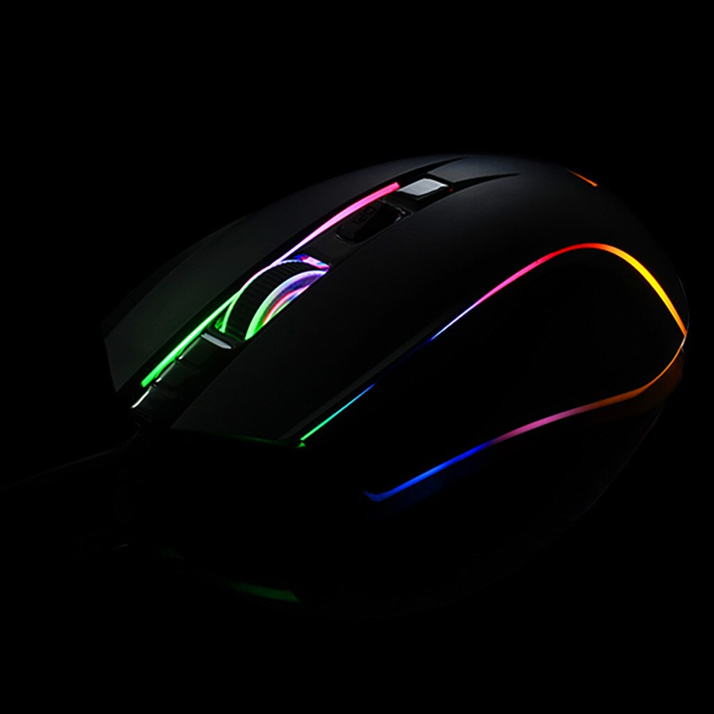 RGB High-End Gaming Mouse with Ergonomic Gaming Design