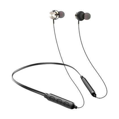 Wireless Bluetooth Magnetic Headset Noise Cancellation Hi-Fi Stereo Sound Quality Ergonomic Design