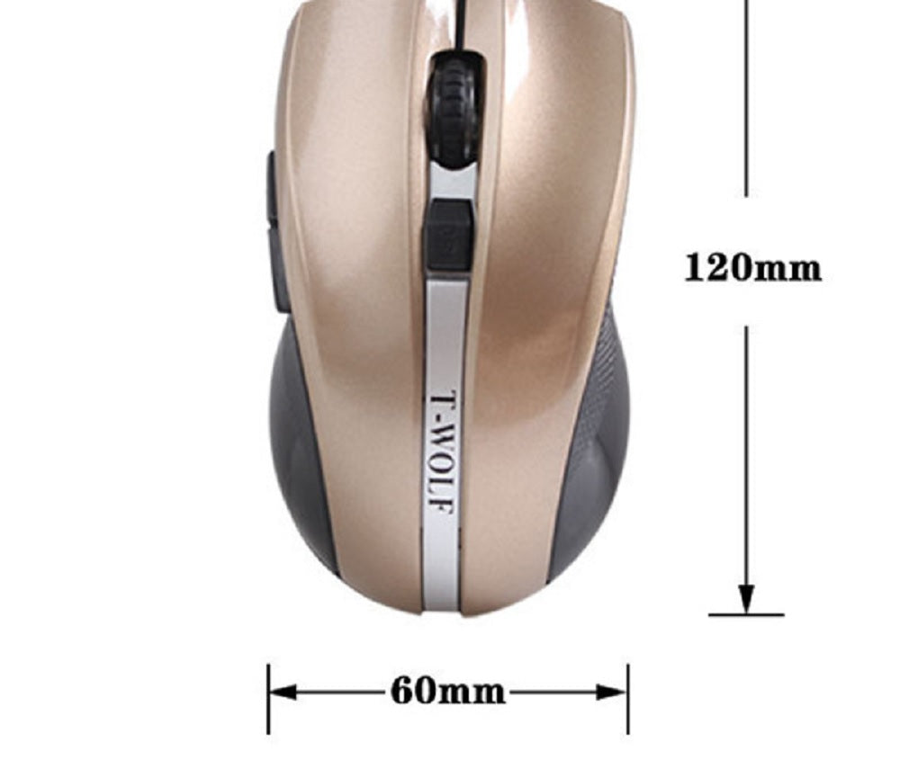 2.4G Wireless Silent Mouse Q5 Notebook Computer Ergonomic Gaming