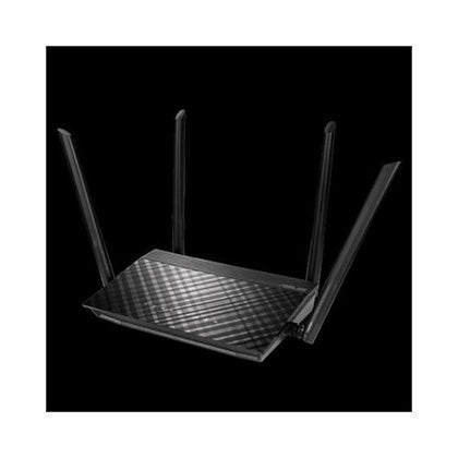 Asus Dual Band WiFi Router Networking Access Four Wireless Antenna For Maximum Coverage