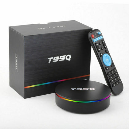 T95Q S905X2 T95Z Plus Upgrade Android 8.1 Smart TV BOX 4G 32G Wifi UK/EU/US